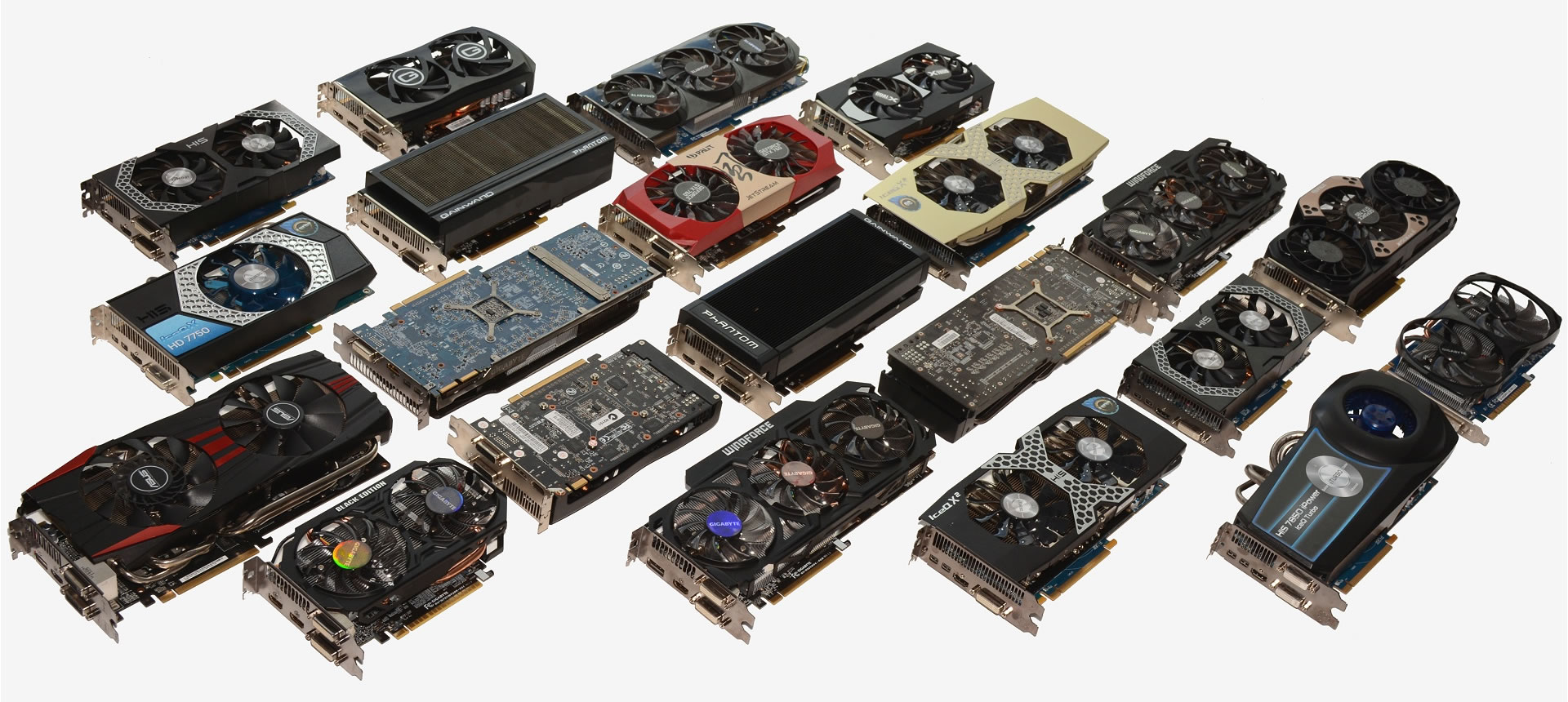 GPUs of all makes and models